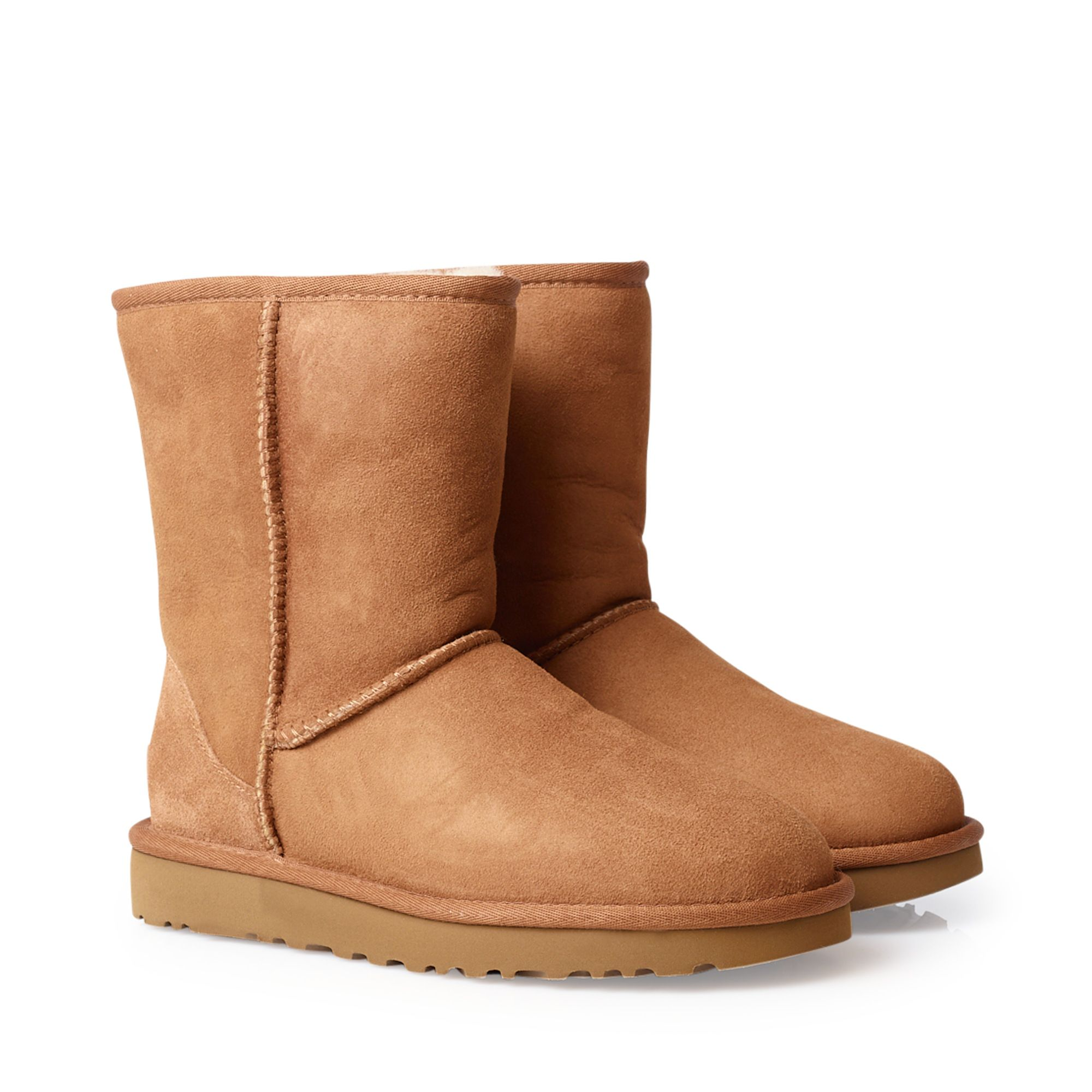dbe99c4d582 UGG Classic Short boots i fårskinn, Cognac, 5 UGG - KompisShopping
