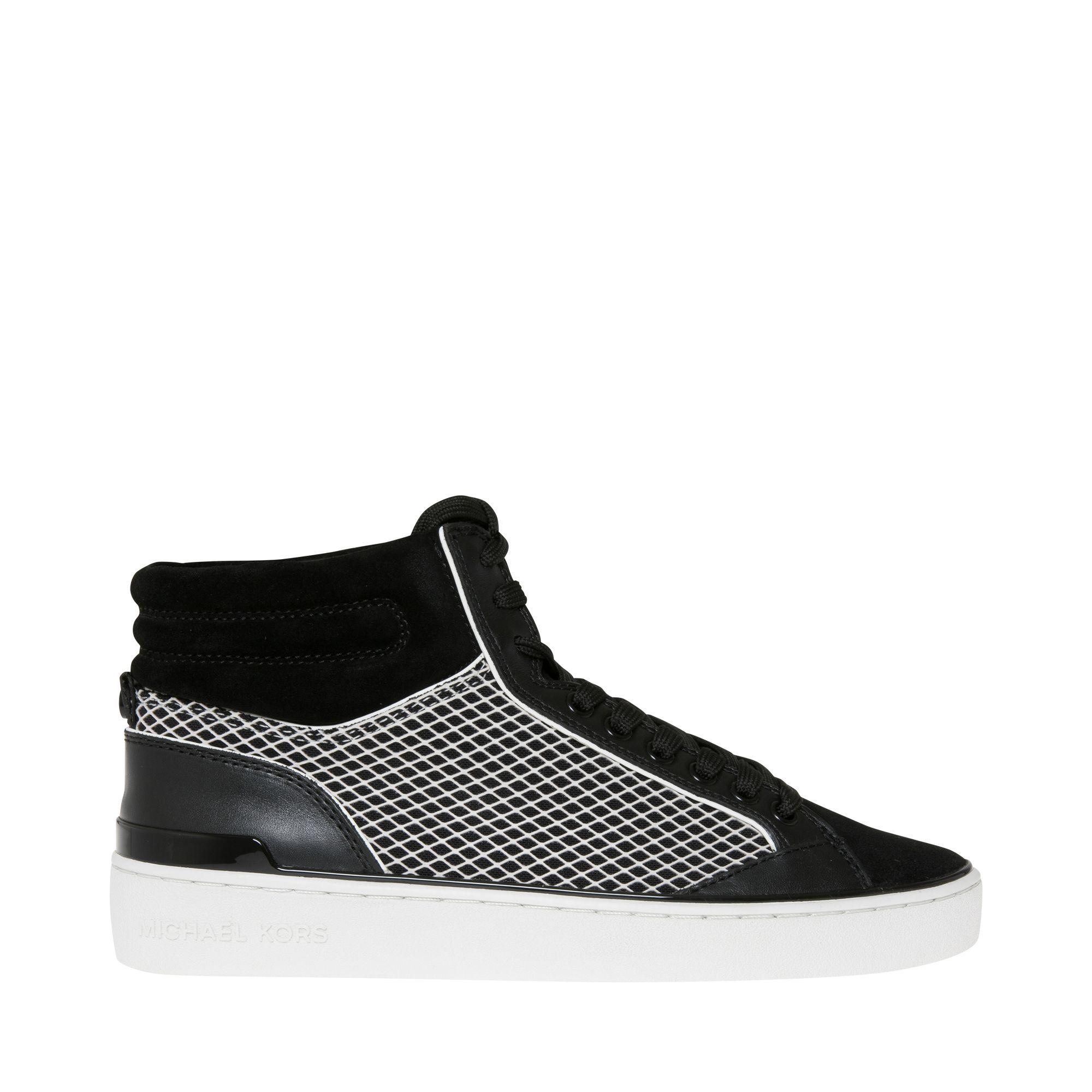 Michael Michael Kors Kyle höga sneakers, Svart, 39