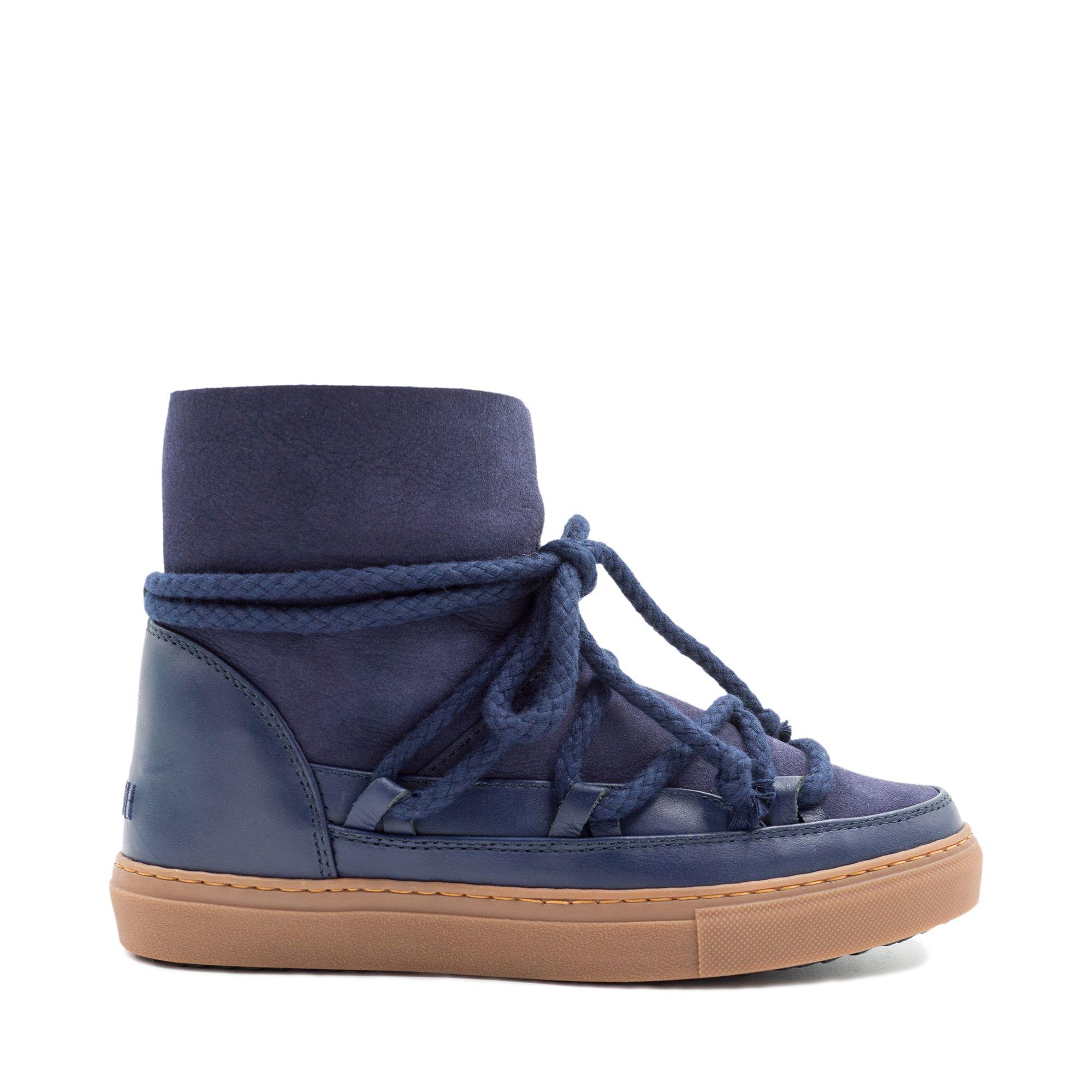 Inuikii Sneaker Classic varmfodrad känga, Mörkblå, 36