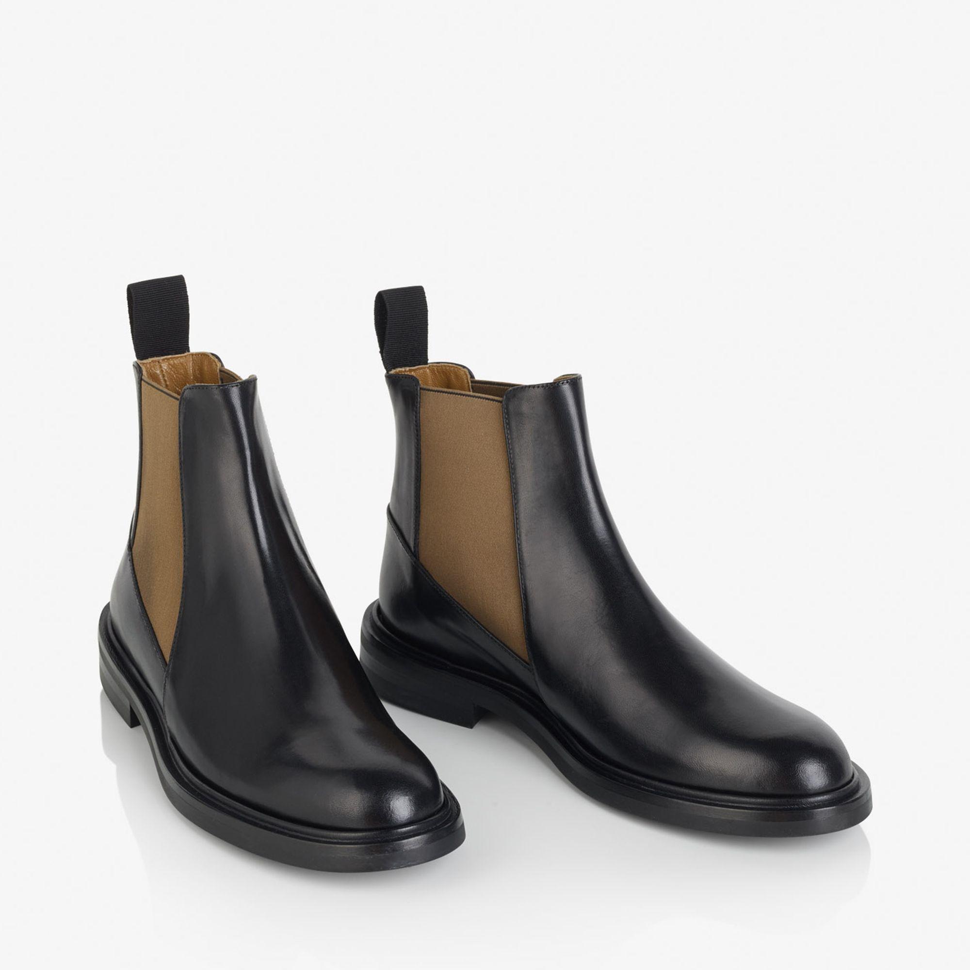 A.T.P. Atelier Clivia boots i skinn, Svart, 36