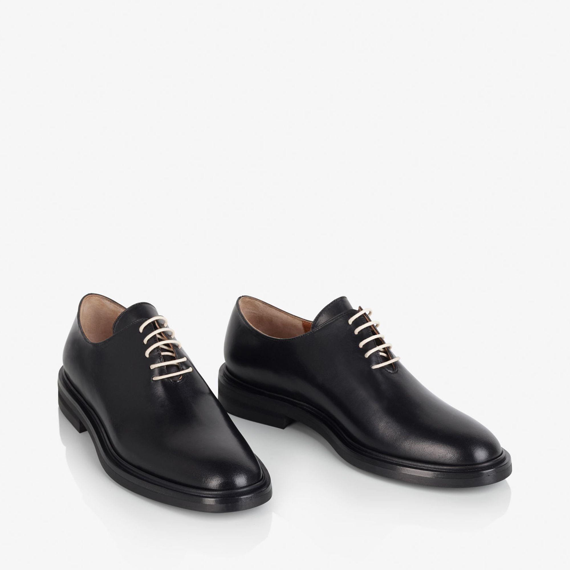 A.T.P. Atelier Stellina skor i skinn, Svart, 36
