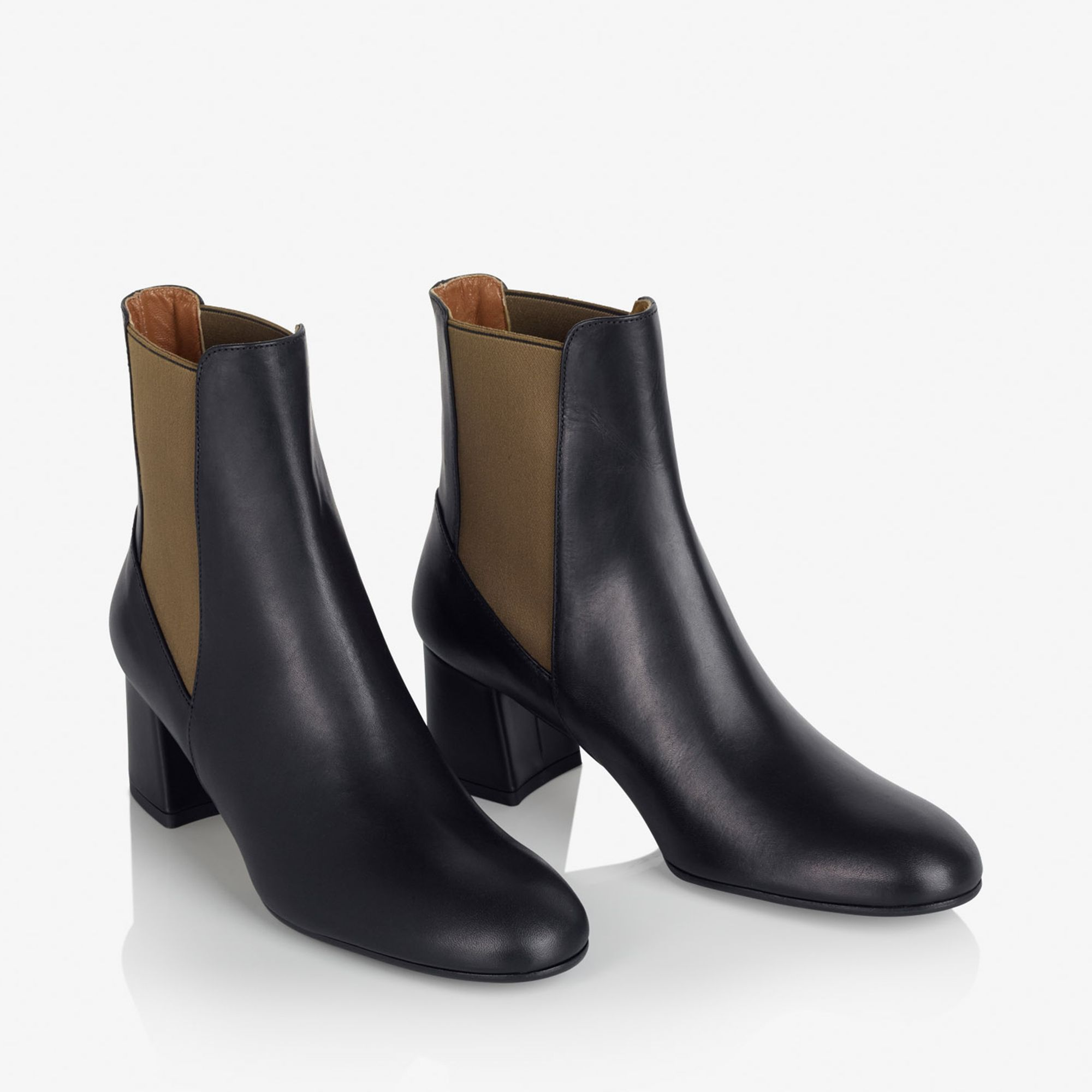 A.T.P. Atelier Altea Leather boots i skinn, Svart, 36