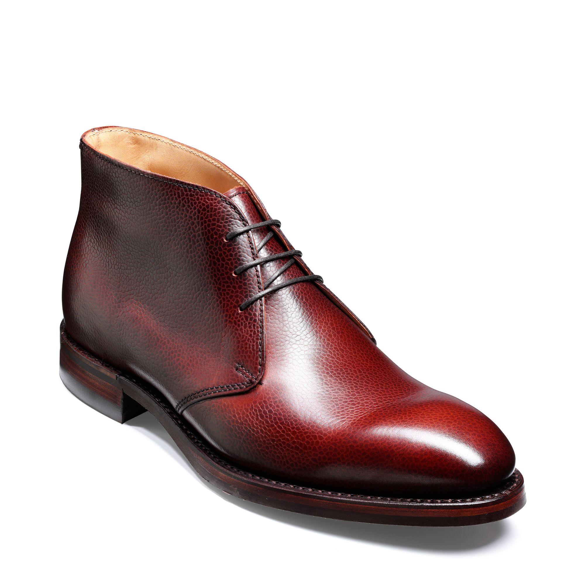 Barker Orkney boots i skinn, Brun, 7