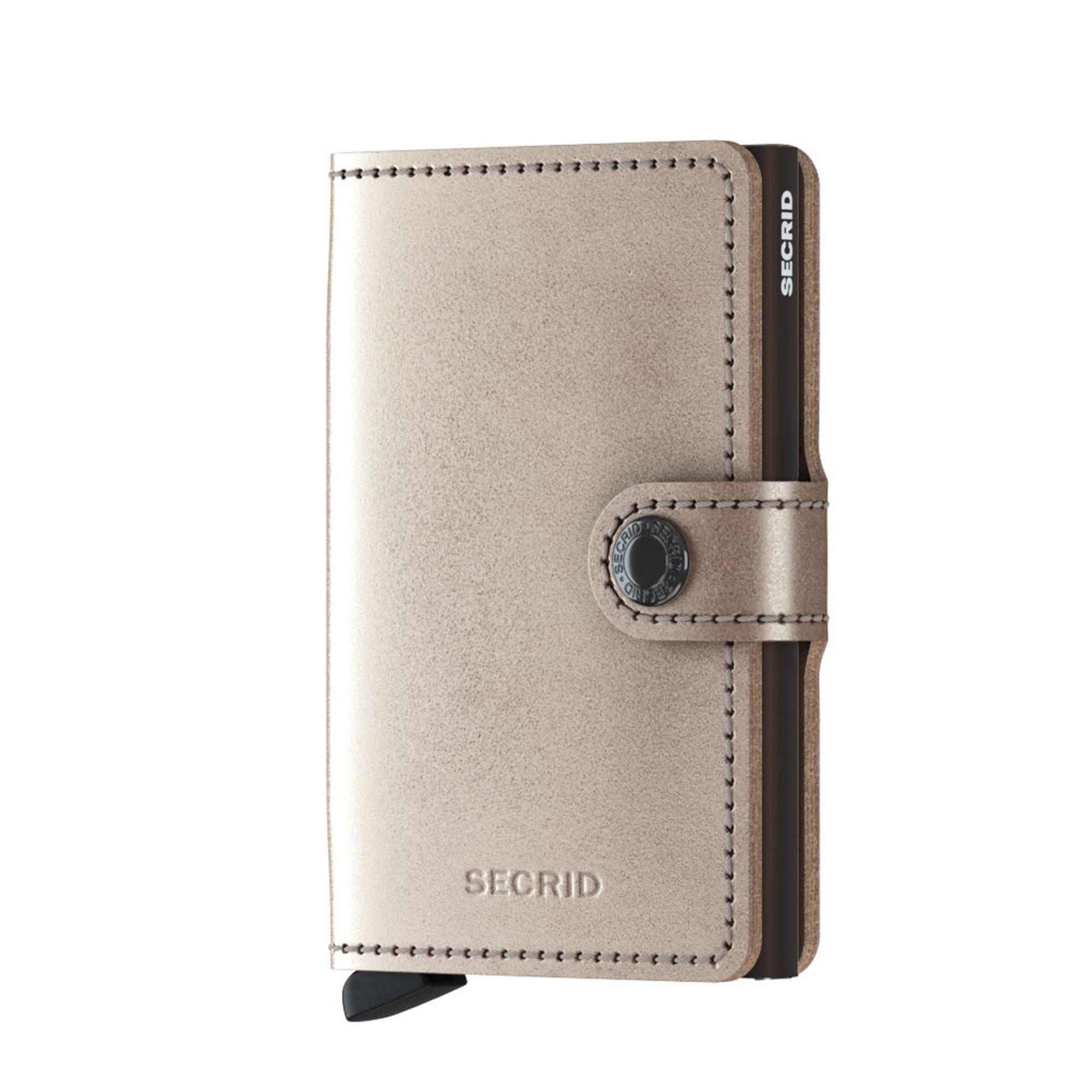 Secrid Miniwallet liten plånbok, Champagne