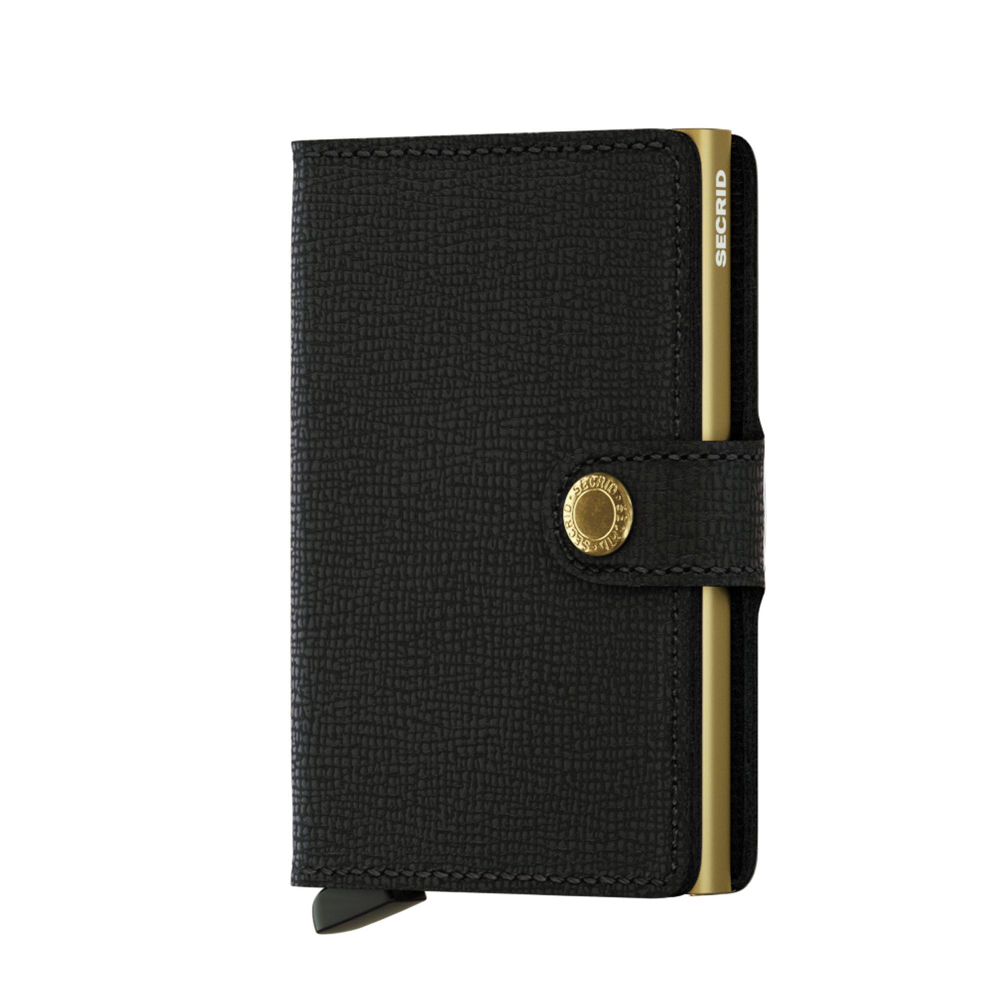 Secrid Miniwallet liten plånbok, Svart