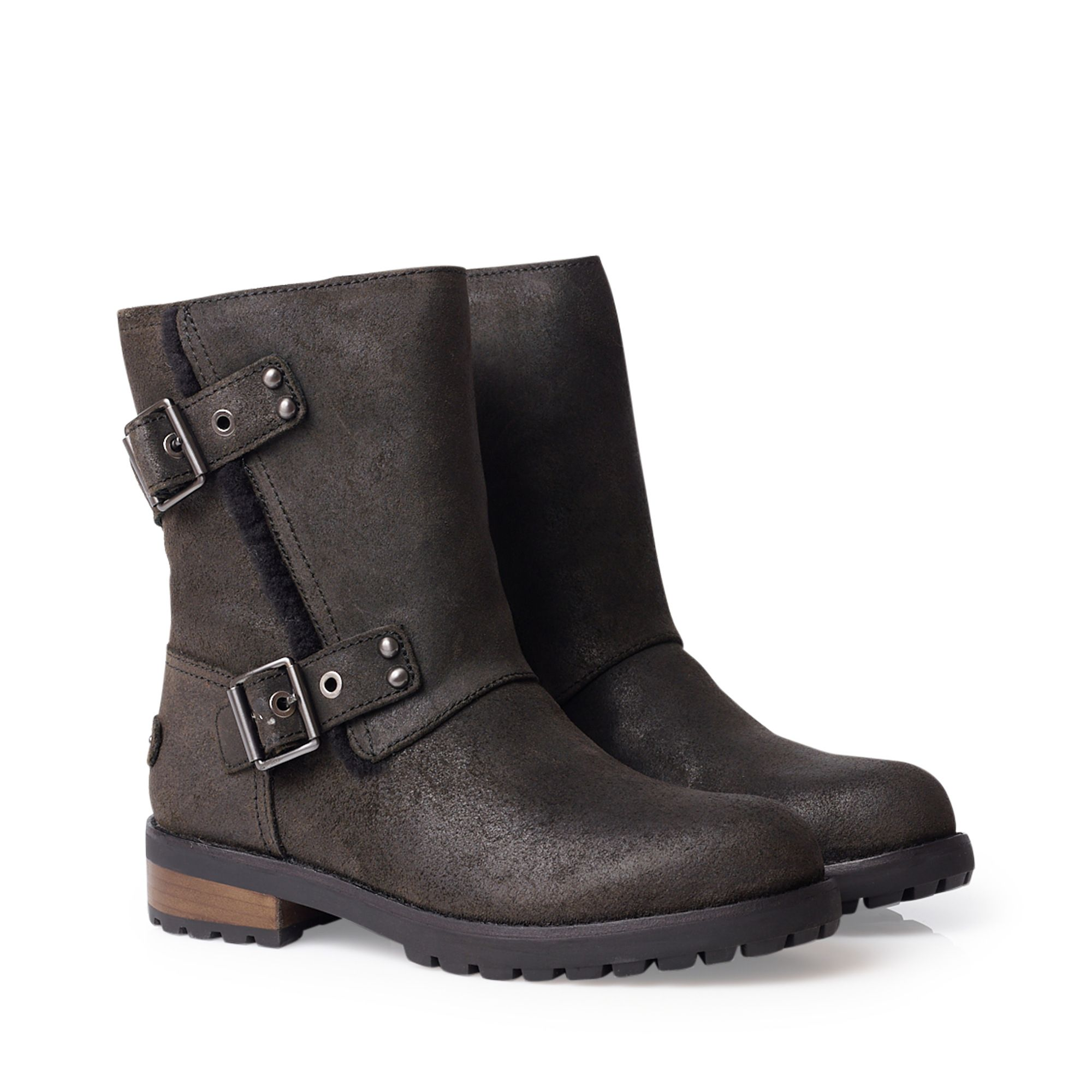 28bc189a398 UGG Niels II varmfodrade boots i fårskinn, Svart, 6 UGG - KompisShopping