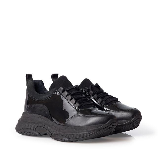 b94cab1ef96 Rizzo Aida chunky sneakers i lackat skinn | Rizzo