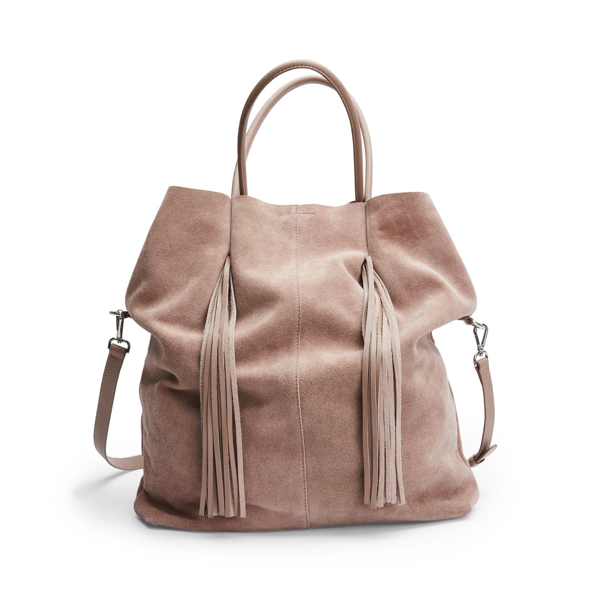 Rizzo Jane Tote väska i mocka, Rosa Rizzo Shoppa idag