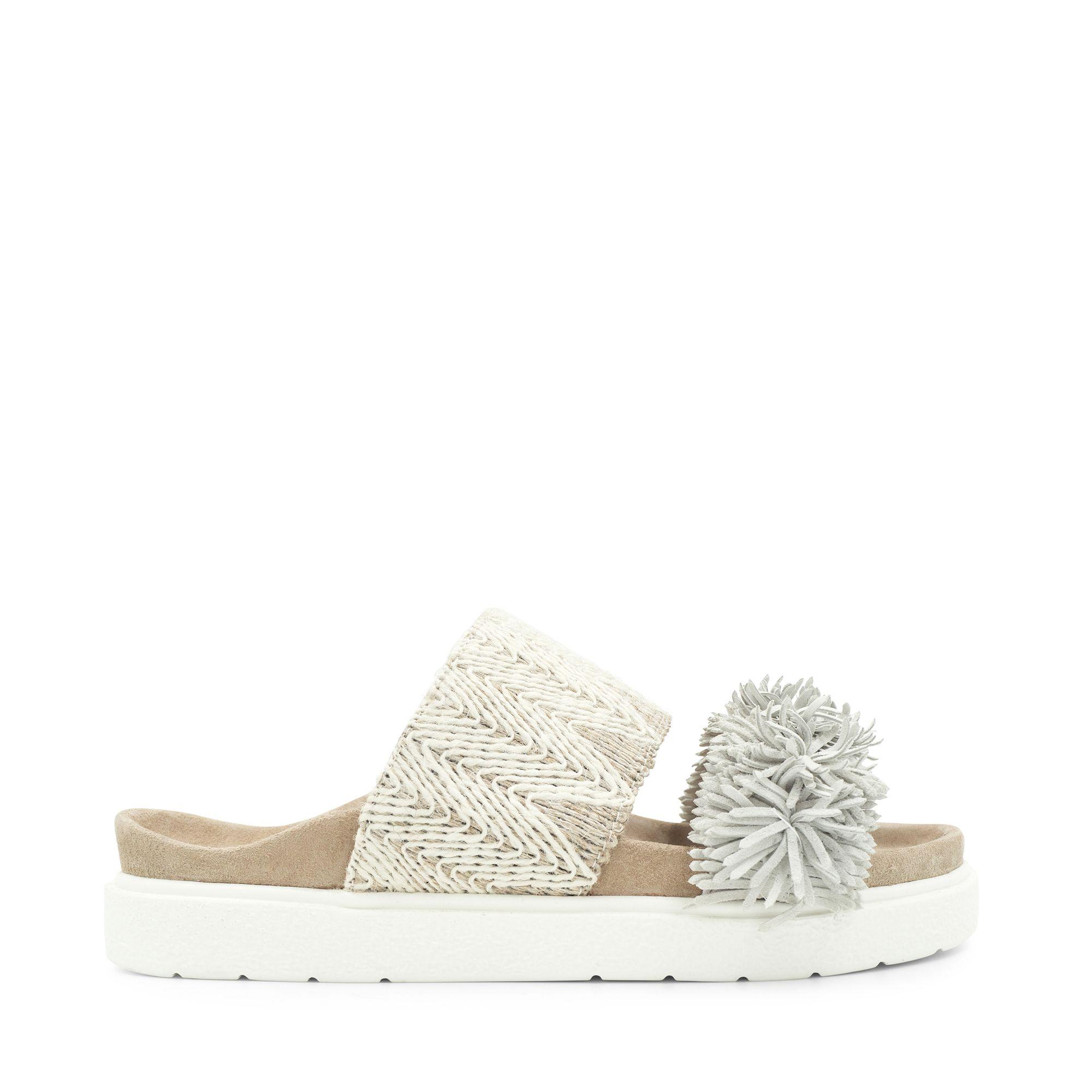 Handla online Inuikii Slipper Raffia Striped sandaler i